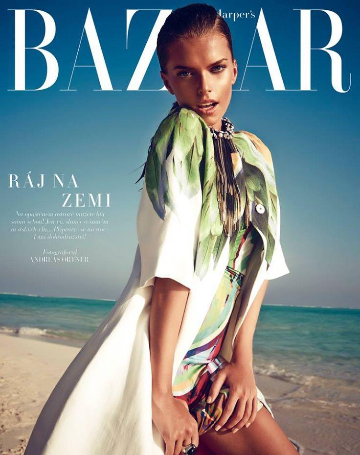 Viktoria Halenarova by Andreas Ortner for Harper's Bazaar Czech