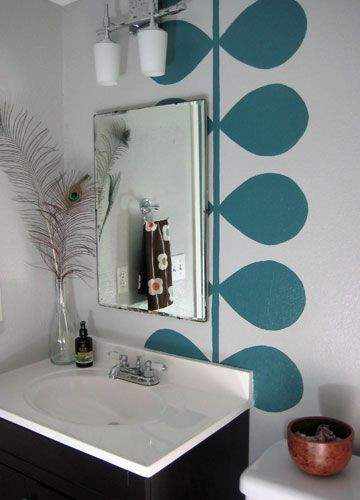 100 Interior Wall Painting Ideas Love This Idea For Bathroom