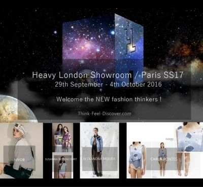 Heavy London Showroom / PARIS SS17 : Welcome the NEW fashion thinkers !