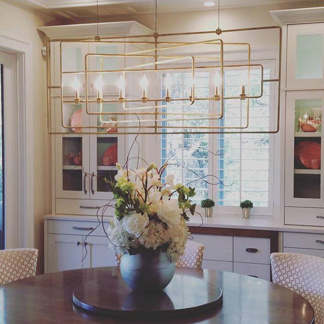 Unique Rectangular Dining Room Chandeliers