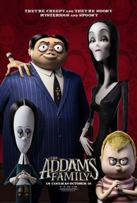 The Addams Family Poster With Images Addams Family Movie