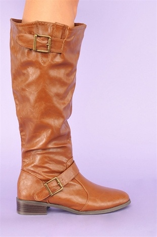 I need knee-high boots this color but nicer...don't like this exact boot