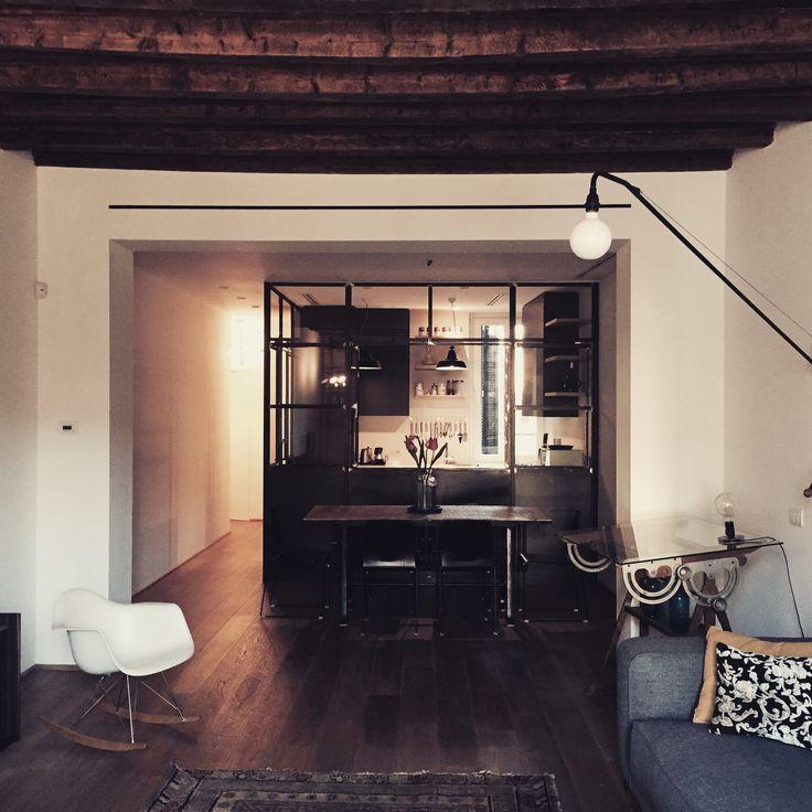 livingroom design  by Nomade architettura
