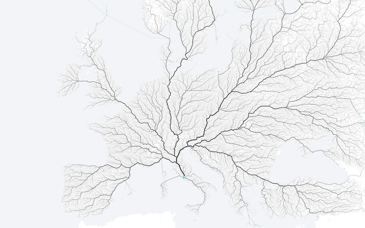 """ROADS TO ROME. Three men had the idea to answer their own version of the old question, """"Do all roads still lead to Rome?"""""""