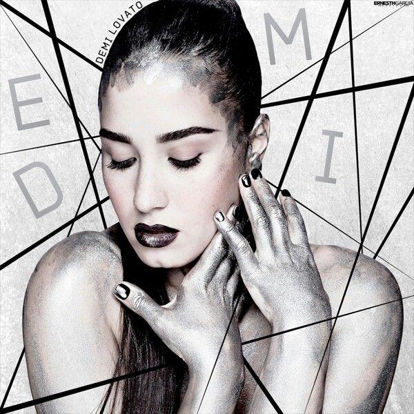 The demi lovato new album cover impossible