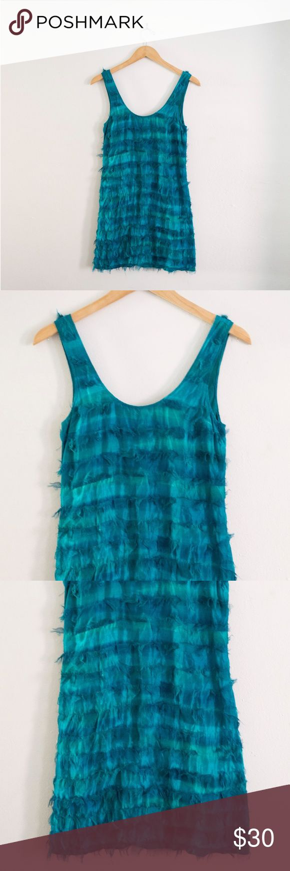 Frock by Tracy Reese dress Frock! By Tracy Reese size 2 teal ombré dress. Tracy Reese Dresses