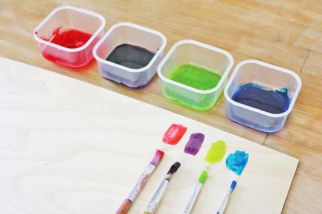 syrup paint test2 by www.babbledabbledo.com, via Flickr