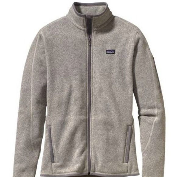 💥 ISO💥 Patagonia Better Sweater jacket Natural size SMALL or MEDIUM! Only looking for the Natural/Heather Grey color! Full zip, no hood! I'm in love with this jacket and willing to purchase new or used! Please let me know if you have one for sale or if you know of someone else that is selling! 😊💕 Patagonia Jackets & Coats