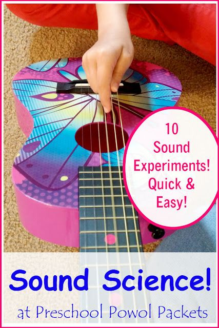 Sound Science Experiments: Vibrations & Violins! | Science ...
