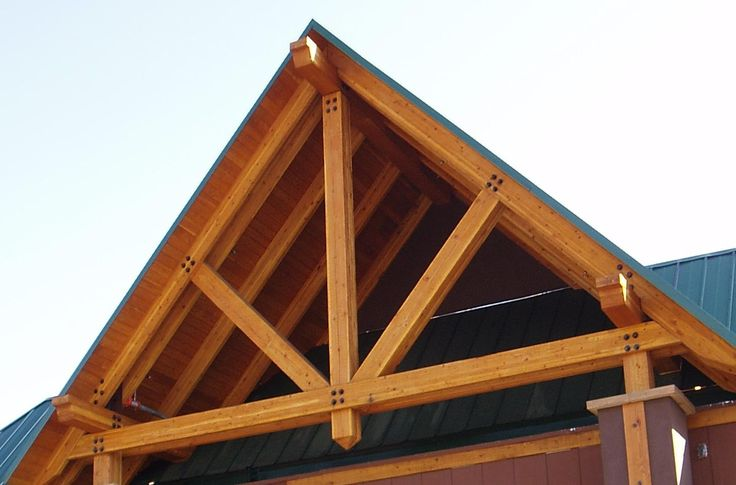 Picture of Adidas outlet store with timber truss installed