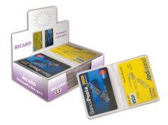 BICARD PORTA #CARD IN PVC 2 SCOMPARTI 890C #archivio #mazzarella