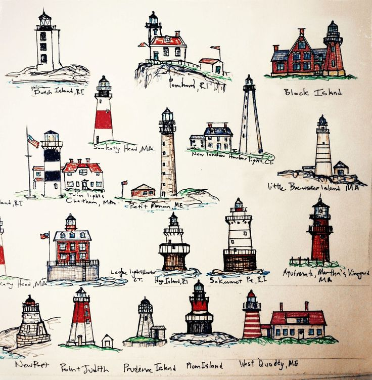 Fixing Up An Old New Englander In Maine: 17 Best Images About Lighthouse Maps On Pinterest