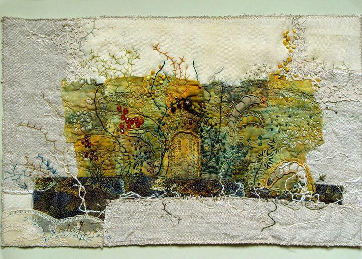 Textile Arts by Bozena Wojtaszek - art quilts, home decorations, fiber art, kitchen decor, food in textiles