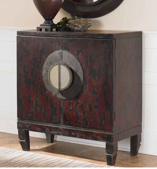 This Unique Asian Cabinet Can Be Found At White Orchard Home Furniture.  Come See Ours