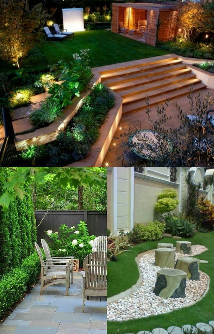 30 Diy Lighting Ideas At Night Yard Landscape With Outdoor Lights Backyard Landscaping Designs Backyard Landscaping Modern Landscaping