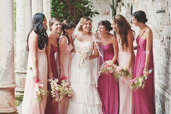 27 Best images about Pink Wedding on Pinterest | Art museum, Chiffon ...