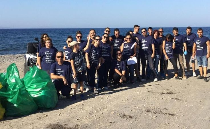 Santo Maris Oia Holds Coastal Cleanup Operation on Santorini.