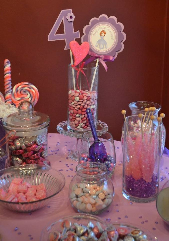 Pink and purple candy bar