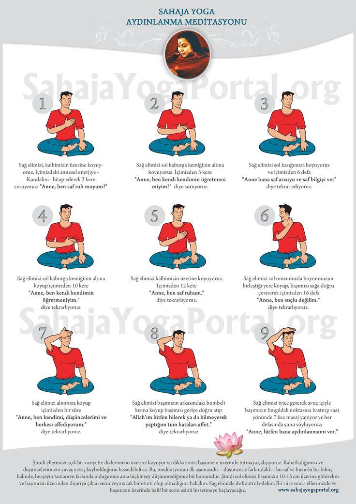 Sahaja Yoga'da ilk meditasyon nasıl yapılır. Siz de deneyin...