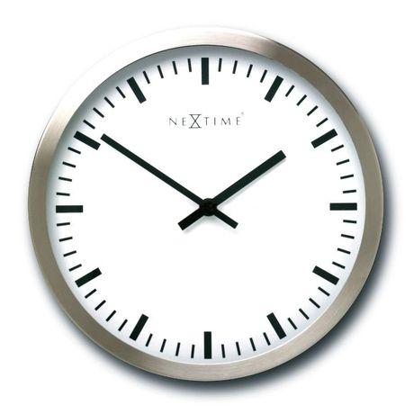 Zegar ścienny NeXtime Stripe 34 cm.