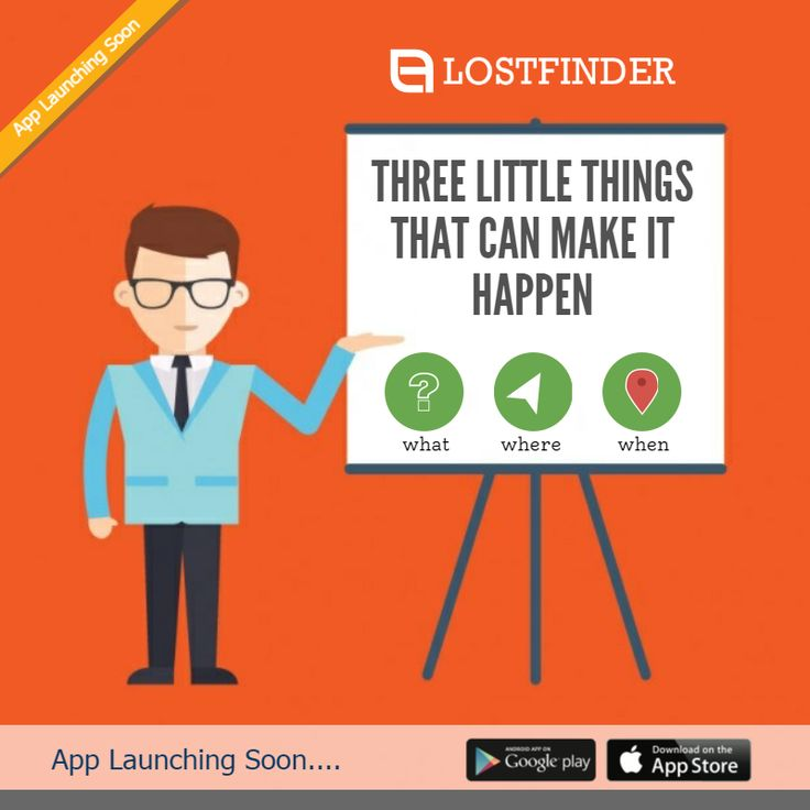 THREE LITTLE THINGS THAT CAN MAKE IT HAPPEN- TO KNOW MORE CLICK HERE: http://lostfinder.co/ #LOSTFINDER #LOSTSTUFF #FOUNDSTUFF