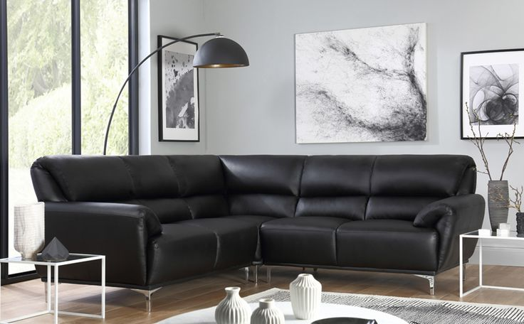 Best 25 Leather Corner Sofa Ideas On Pinterest Brown