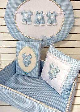 Piti Kareli İpte Elbiseli set (kapı süsü + sepet + anı defteri + takı yastığı)
