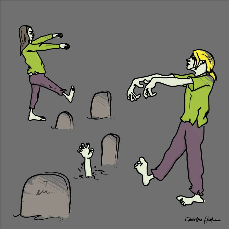 Happy Halloween 🎃  #halloween #zombie #zombies #illustration #illustrations #illustratör #illustrator