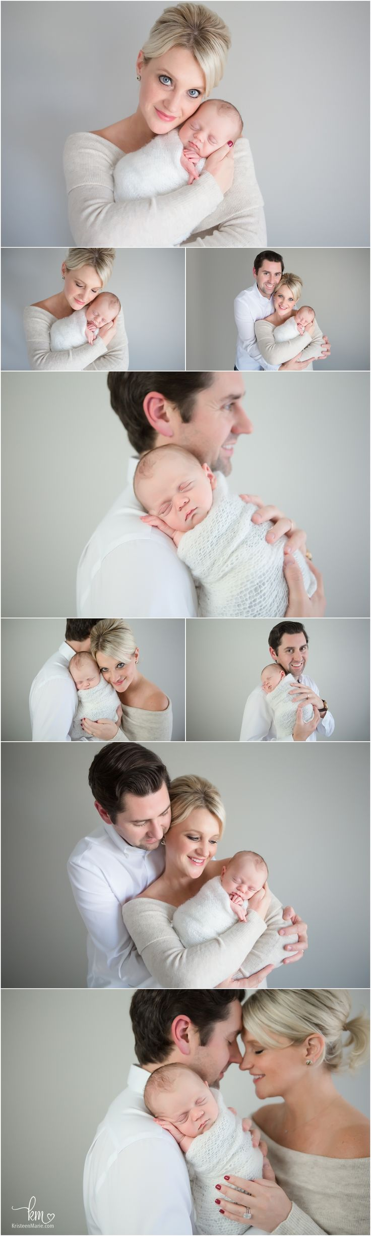 parents with newborn baby boy  - Newborn photography - Meadoria