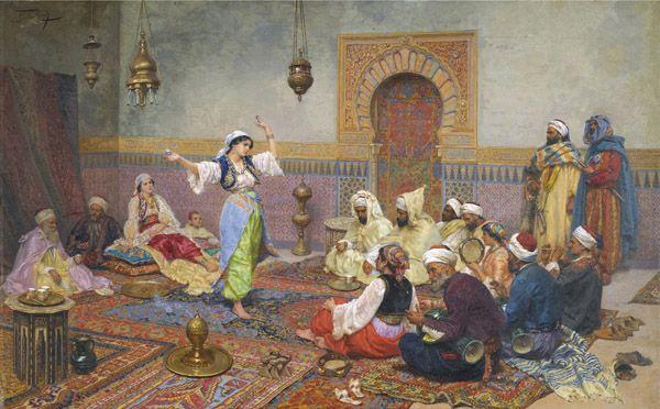 Ocher Art: Orientalism- a unique genre of Art