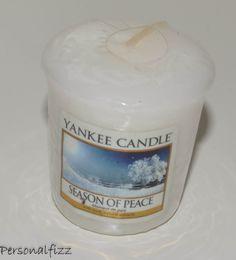 Yankee Candle Votive season of peace