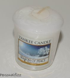 Yankee Candle Votive season of peace