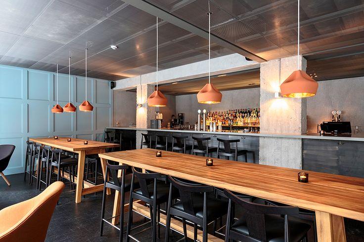 Intérieur du restaurant Farang à Stockholm par le studio Futudesign.
