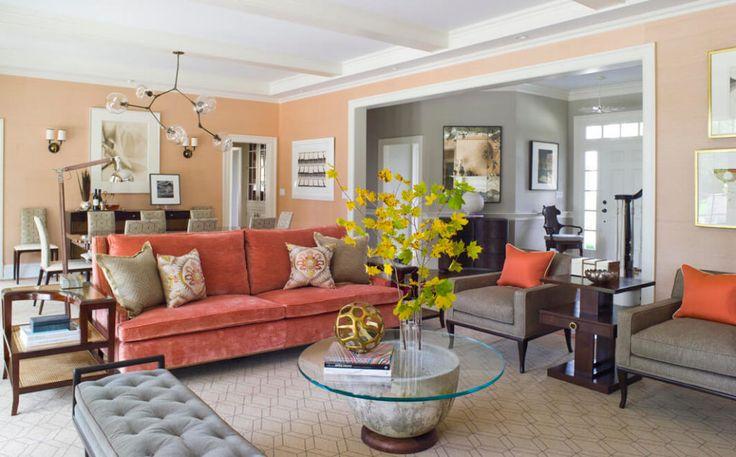 Country Estate Interior Design Litchfield CT Living room