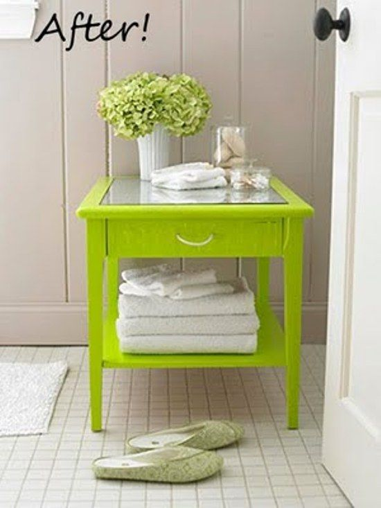 25 Brightly Painted Furniture Ideas. Old FurnitureFurniture  MakeoverFurniture ProjectsDiy ...