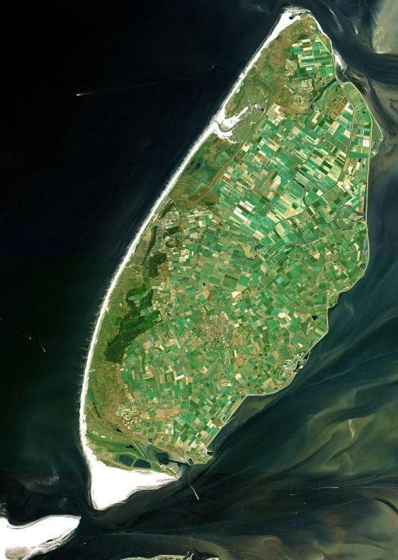 The island of Texel