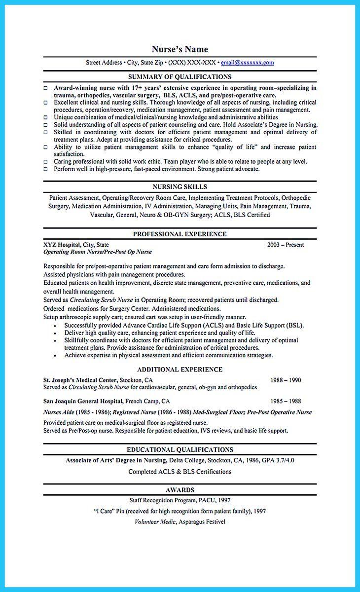 Cool High Quality Critical Care Nurse Resume Samples Nursing Resume Template Nursing Resume Job Resume