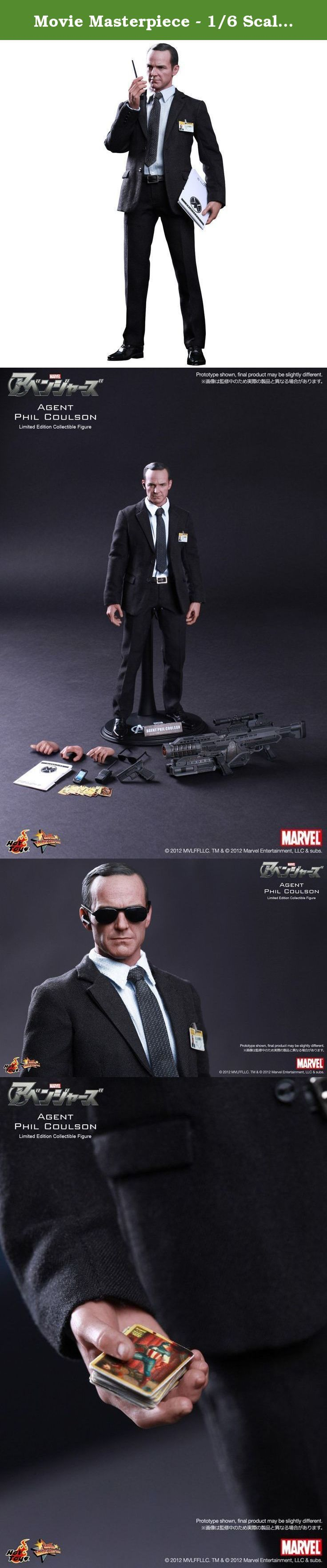 Movie Masterpiece - 1/6 Scale Fully Poseable Figure: The Avengers - Agent Phil Coulson. Sideshow Collectibles and Hot Toys are proud to present the Agent Phil Coulson Limited Edition Sixth Scale Collectible Figure from the smash hit The Avengers. The movie-accurate collectible is specially crafted based on the image of Clark Gregg as Agent Phil Coulson in the movie, highlighting the newly developed head sculpt, highly detailed costume, weapons and accessories.The Agent Phil Coulson Sixth...