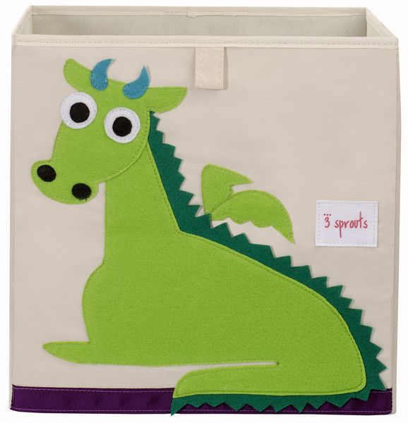 dragon storage box - Perfect for any child's room or playroom. Clutter Free Kids