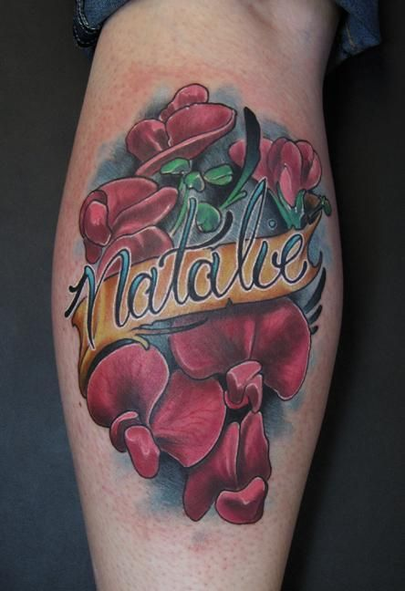 17 best images about ink on pinterest sweet peas beauty for Sweet pea tattoo
