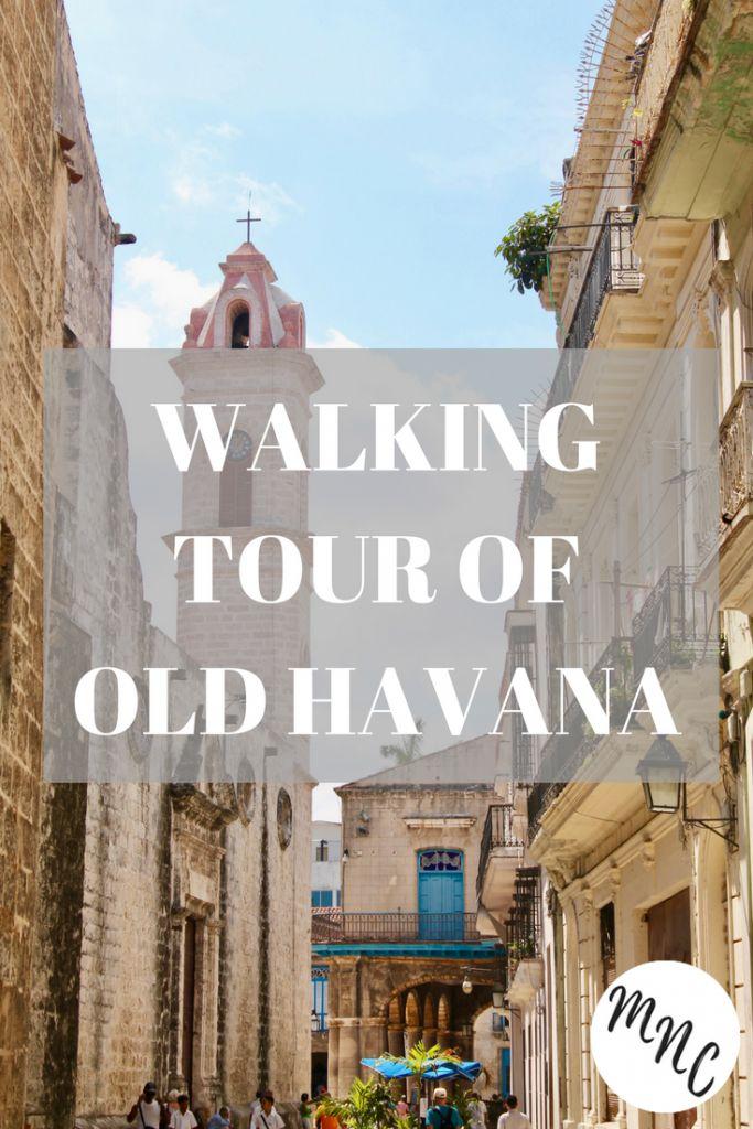 Exploring Old Havana in Cuba