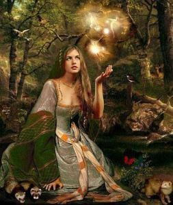 Airmid is the Celtic Goddess of the Healing Arts.