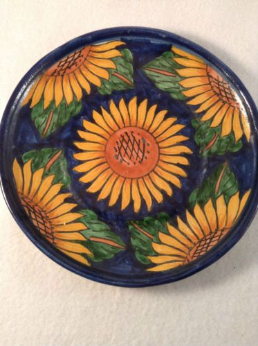 Talavera Plate Mexican Folk Art