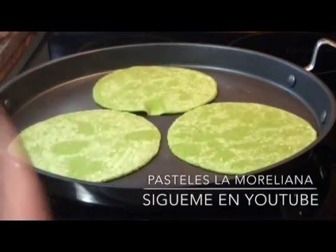 TORTILLAS SALUDABLES DE NOPAL ESPINACAS - YouTube