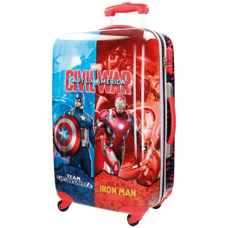 Marvel Civil War Large suitcase 58 cm