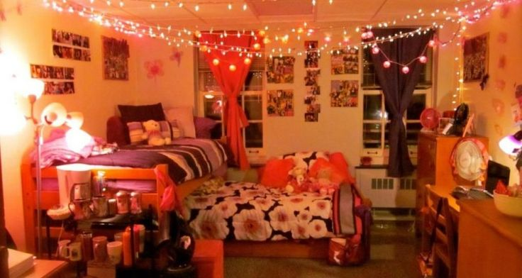 How to Decorate A Dorm Room With Retro Style Ideas