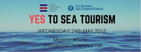 Το YES Forum λέει YES to Sea Tourism την Τετάρτη 24 Μαΐου 2017 στα Posidonia Sea Tourism στο Μέγαρο Μουσικής #say_yes_to_sea_tourism #say_yes_to_shipping #Say_yes