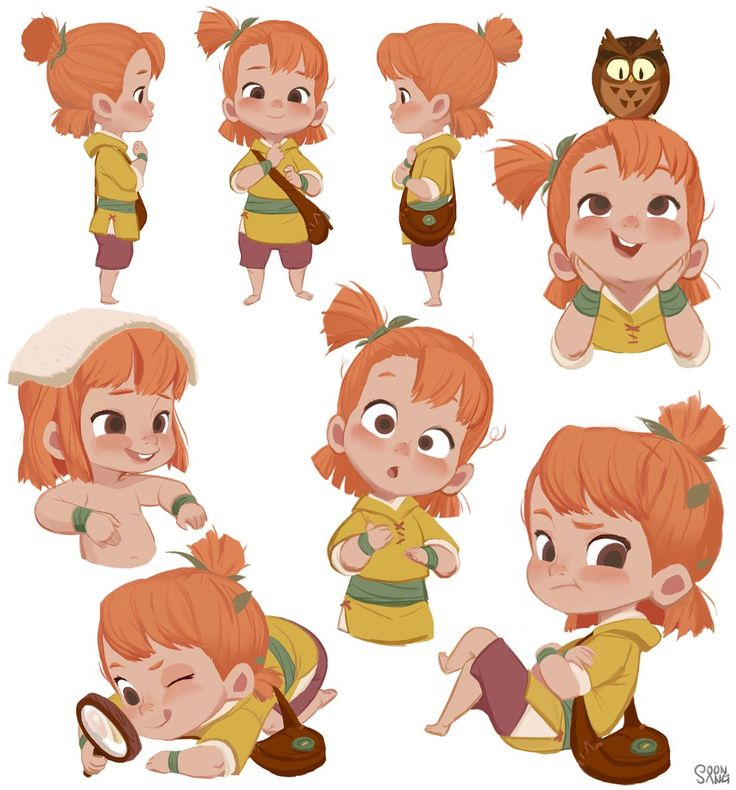 Cartoon Character Design Sheet : Best female character reference images on pinterest