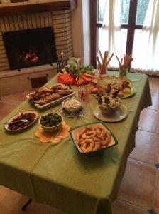 Thanksgiving Antipasto Menu