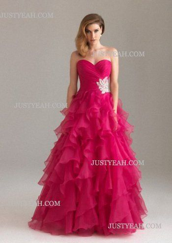 A-line Sweetheart Lace Sleeveless Evening Dresses
